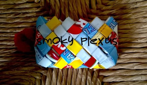 Mix and match colors to make unique Tobacco Packaging Handbags.