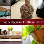 2017 Top 5 Recycled Art Projects You Created 1 • Do-It-Yourself Ideas