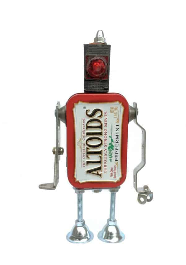 This cute little Altoids Robot can be made with the DIY Video Tutorial.