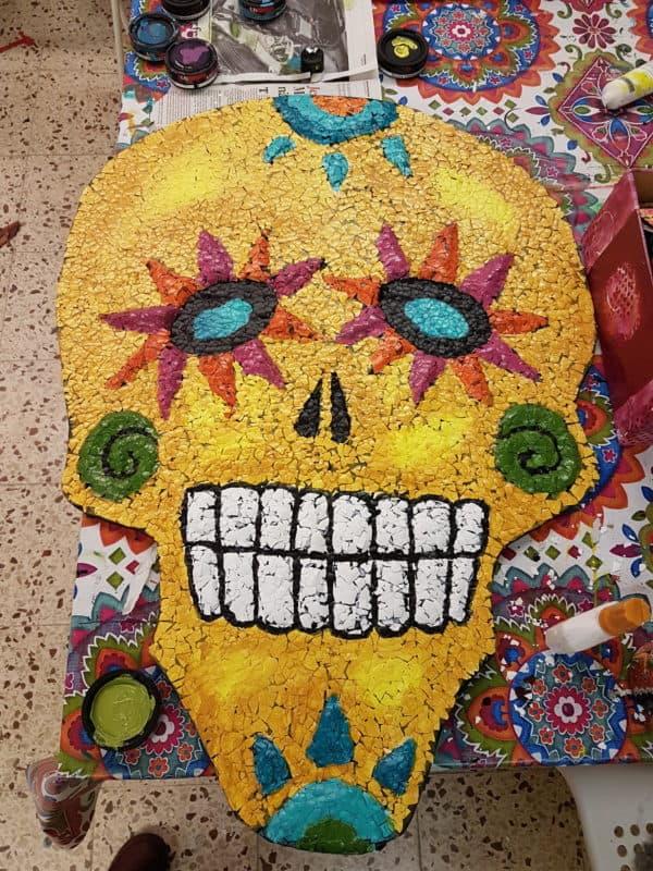 Eggshell Sugar Skull