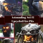 Fantasy Upcycled Fire Pits Will Blow Your Mind! 1 • Recycling Metal