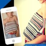 Rug Burns: Upcycled Rug Into Urban Tube Top 1 • Clothing & Accessories