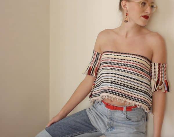 Rug Burns: Upcycled Rug Into Urban Tube Top 7 • Clothing & Accessories