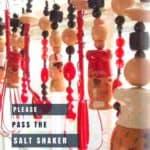 Please Pass the Salt Shaker Upcycled Window Valance 1 • Home & décor