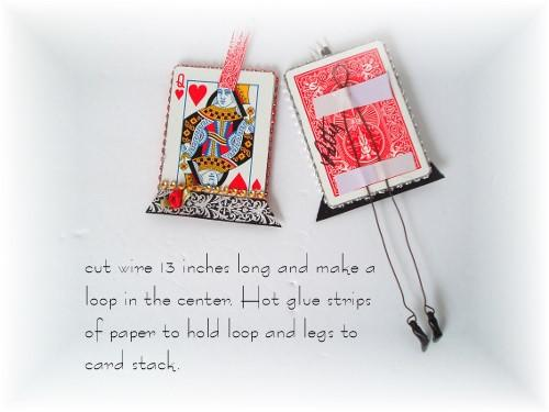 Make whimsical gifts using scraps in your craft room. These Card Dolls are a fun family project, too.