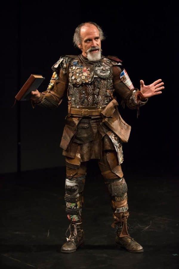 The modern interpretation of Don Quixote's Knight Costume.