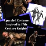 17th Century Inspired Upcycled Knight Costume 1 • Clothing