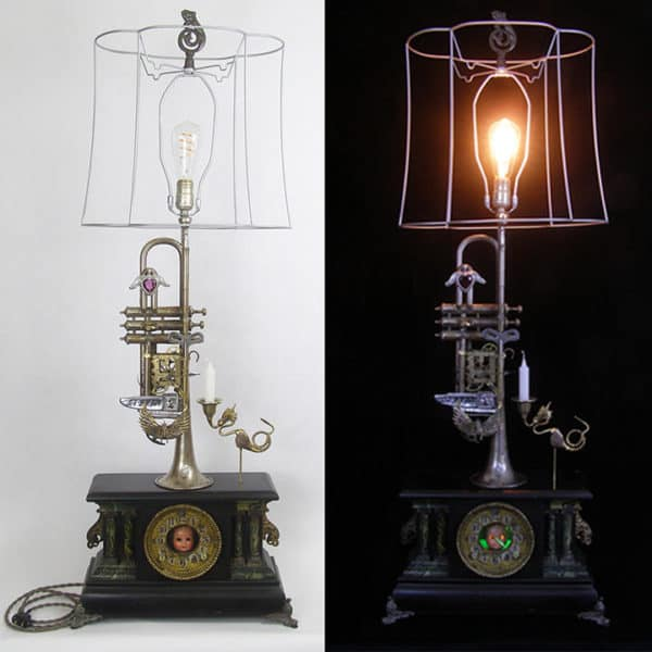 Upcycled Instruments Become Lightmusic Lamps 11 • Lamps & Lights