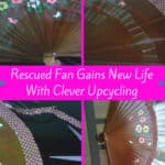 Fan-tastic Upcycling Idea: Repaired Fan Gains New Stylish Life 1 • Home & décor