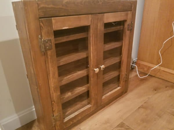 I bought this Bathroom Cabinet for a steal and upcycled it into extra bathroom storage.