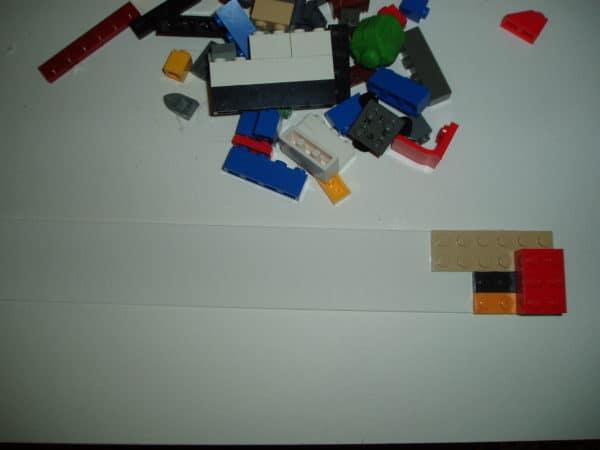 Repurposed Lego Window Valance 3 • Home & décor