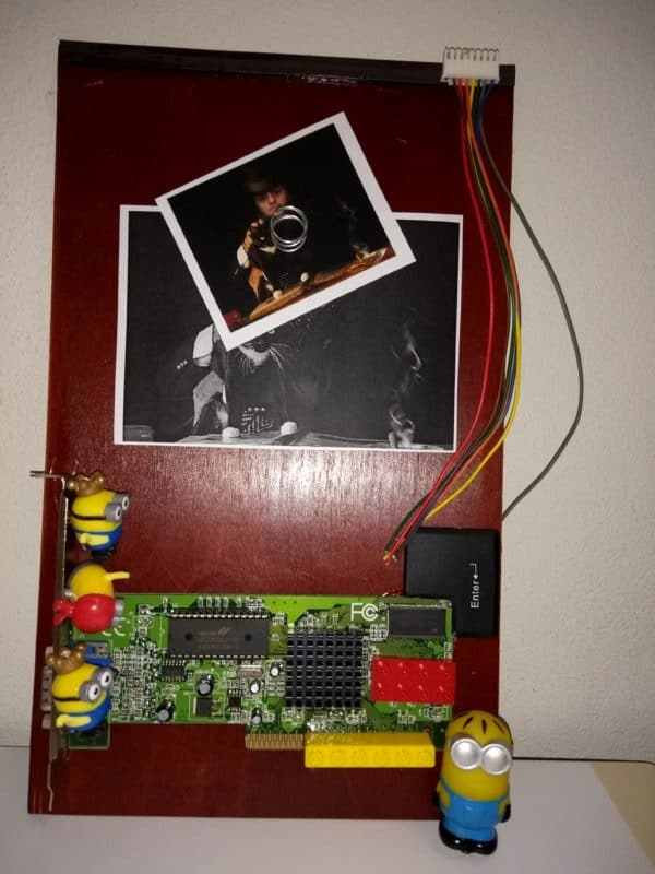 Techno Art: Recycled Art from Computer Electronic Parts 7 • Recycled Electronic Waste