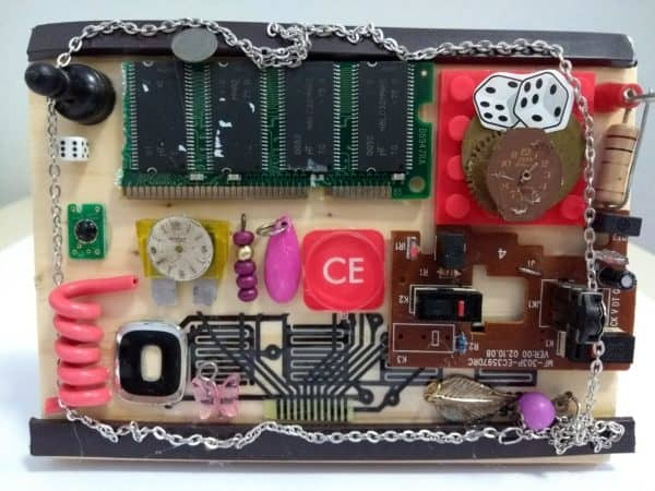 Techno Art: Recycled Art from Computer Electronic Parts 9 • Recycled Electronic Waste