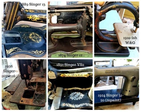 Diy: Cleaning up Your Vintage And/Or Antique Sewing Machines 3 • Do-It-Yourself Ideas