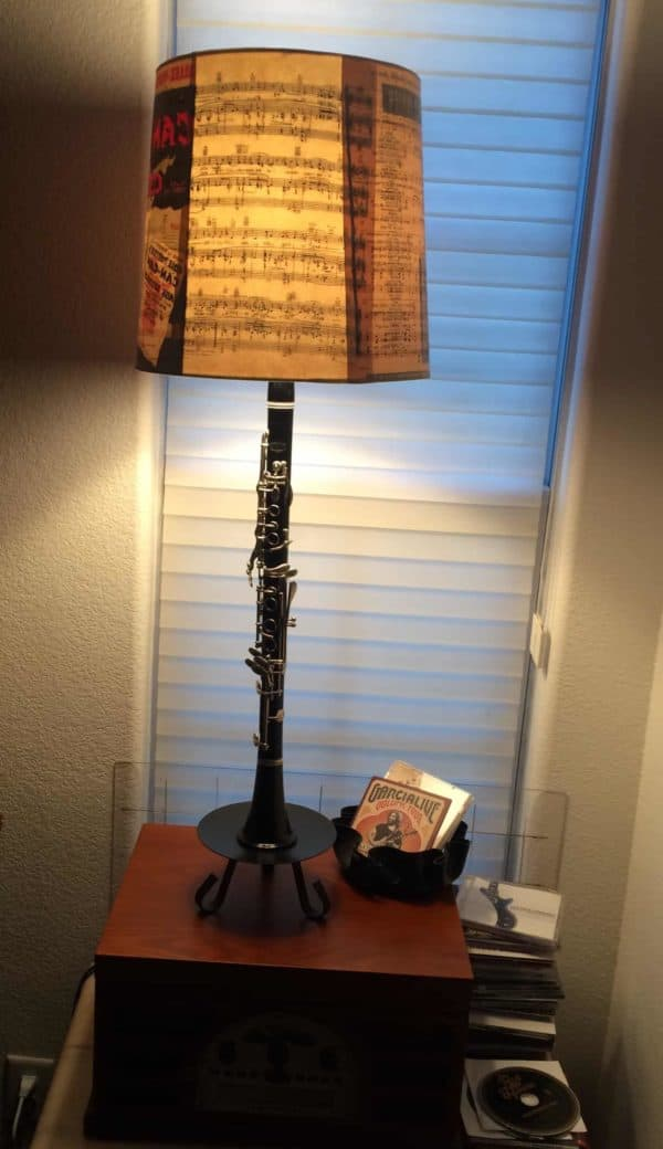 Old Band Instrument Lives On As A Shining Star 3 • Lamps & Lights