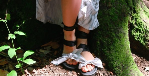 Upcycled Car Tires Into Sandals 1 • Accessories