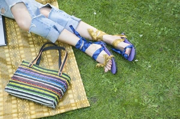 Upcycled Car Tires Into Sandals 3 • Accessories