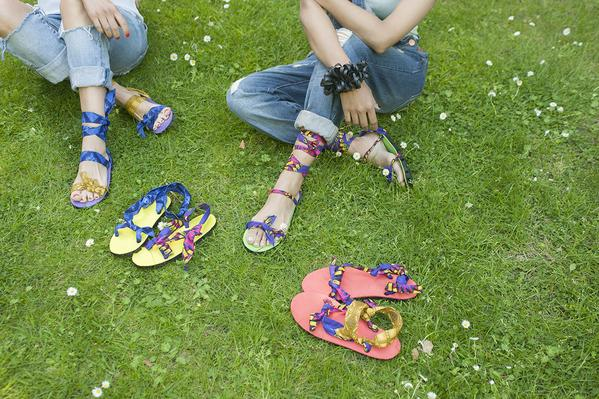 Upcycled Car Tires Into Sandals 5 • Accessories