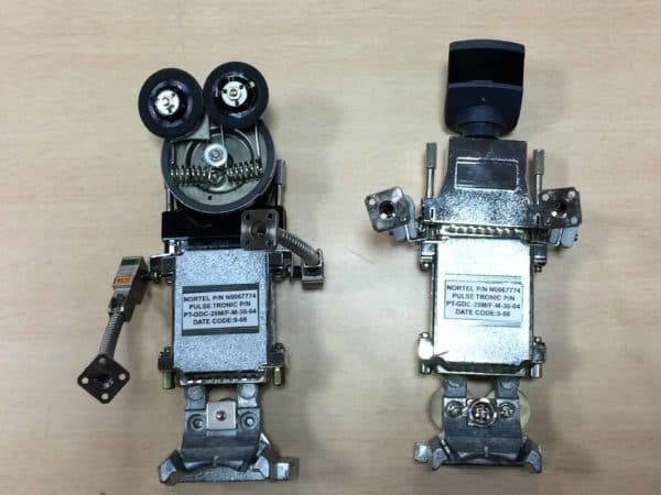 E-waste Abstract Sculptures 9 • Recycled Electronic Waste