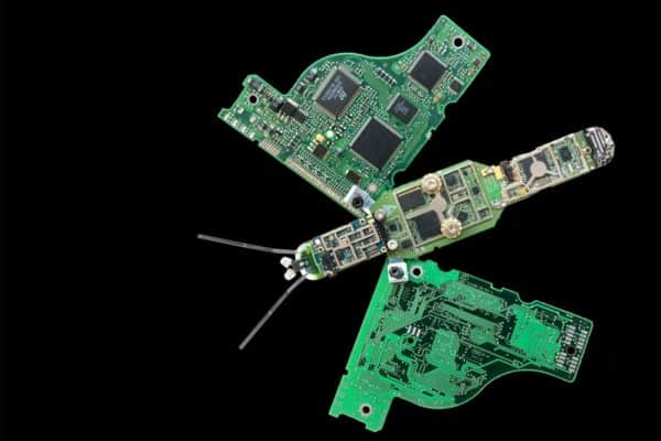 E-waste Abstract Sculptures 5 • Recycled Electronic Waste