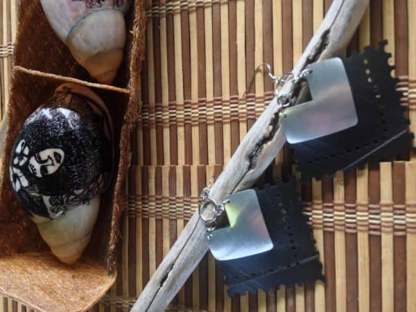 Recycled Inner Tubes & Cans Jewelry by Ckoasa 21 • Upcycled Jewelry Ideas