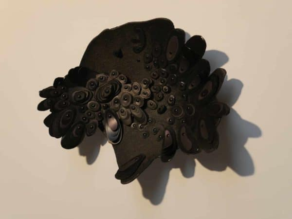 Petroplast: Sculpture From Pyroplastic 1 • Recycled Plastic