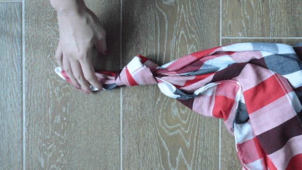 Upcycle Textiles into Furoshiki Purses: Using Knots & Folds 5 • Clothing & Accessories