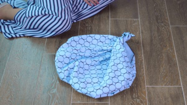 Upcycle Textiles into Furoshiki Purses: Using Knots & Folds 13 • Clothing & Accessories