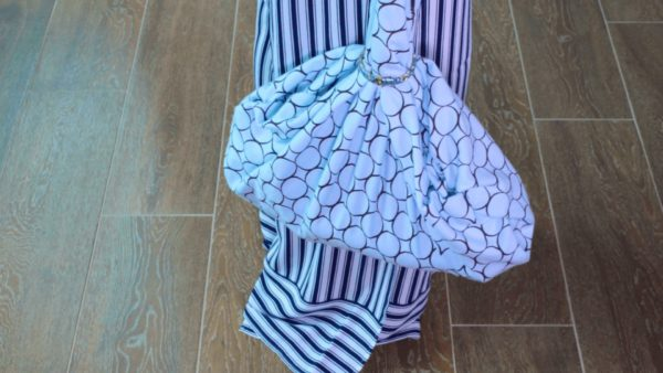 Upcycle Textiles into Furoshiki Purses: Using Knots & Folds 17 • Clothing & Accessories