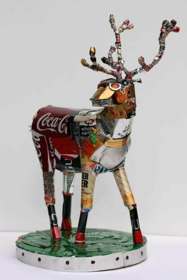 The Art of Recycling: Transform Trash Into Pieces of Art 7 • Recycled Art