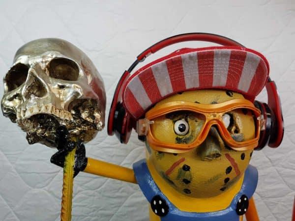 Handmade Minion Figurines 15 • Recycled Art