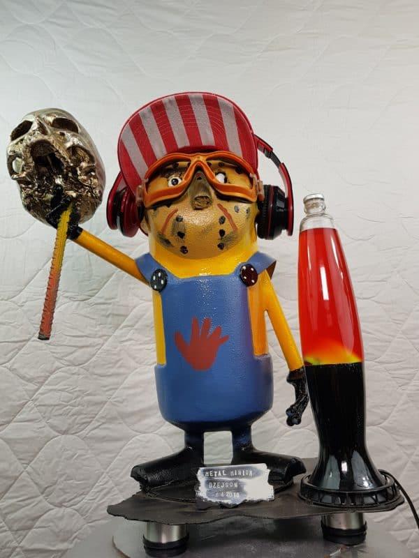 Handmade Minion Figurines 7 • Recycled Art