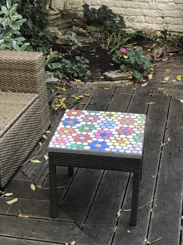 New Life for My Garden Coffee Table 1 • Recycled Plastic