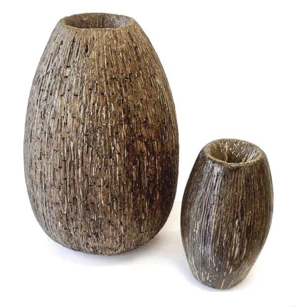 Large Recycled Cardboard Vases 1 • Recycled Cardboard