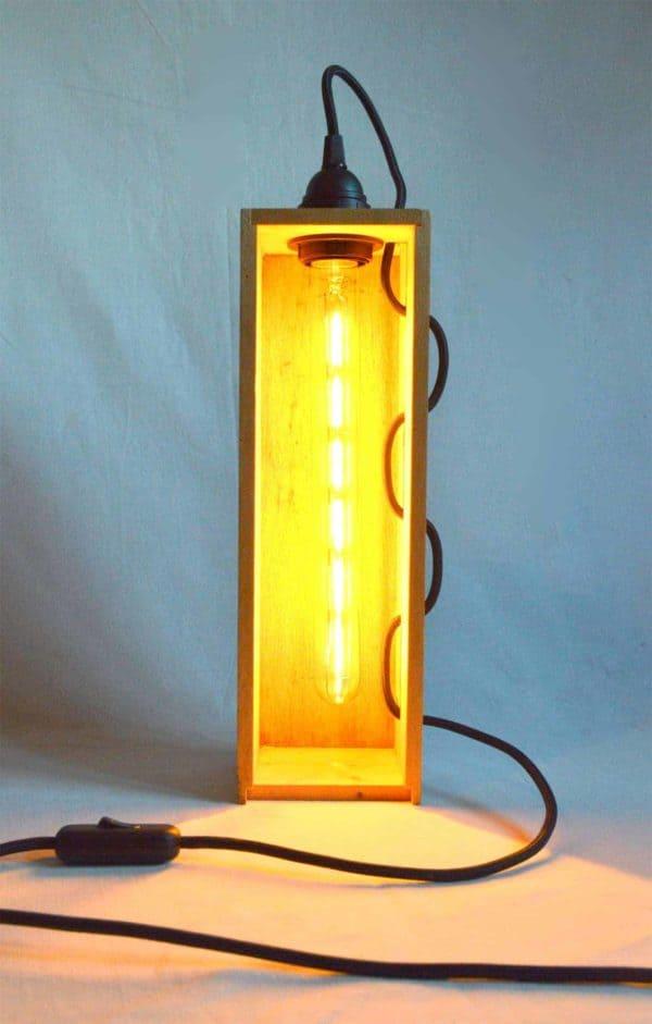 Wine Box Lamp 5 • Lamps & Lights