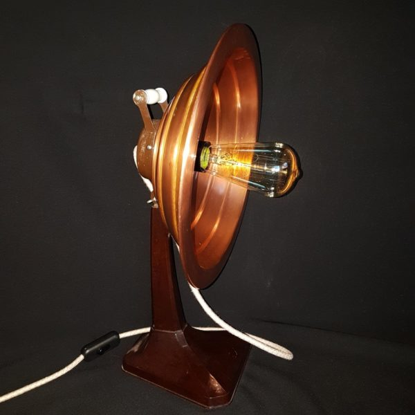 How to Transform an Old Electric Heater into an Industrial/Steampunk Table Lamp? 3 • Lamps & Lights
