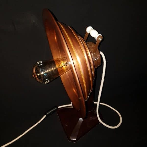How to Transform an Old Electric Heater into an Industrial/Steampunk Table Lamp? 5 • Lamps & Lights
