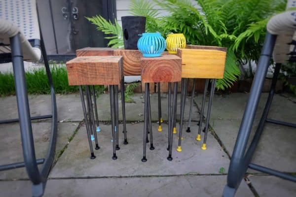 Pallet Wood Modular Patio Coffee Table 3 • Recycled Pallets