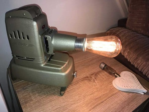 Vintage Projector Lamp 1 • Lamps & Lights