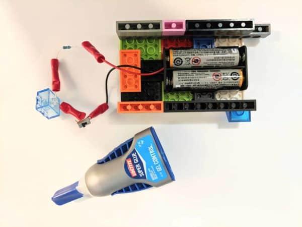 Lego Uv Led Flashlight 7 • Recycled Electronic Waste