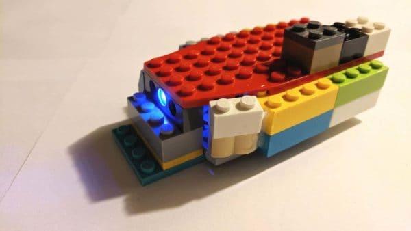 Lego Uv Led Flashlight 1 • Recycled Electronic Waste