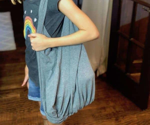 No-sew T-shirt Bag 1 • Accessories
