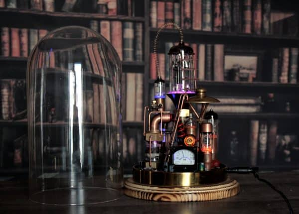 "Steampunk Lamp ""Benjamin"" 5 • Lamps & Lights"