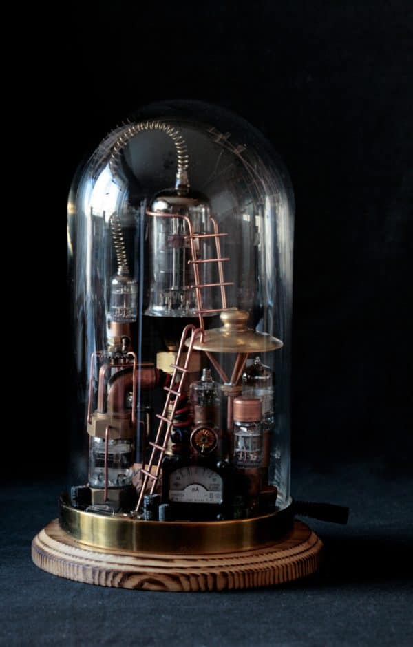 "Steampunk Lamp ""Benjamin"" 9 • Lamps & Lights"