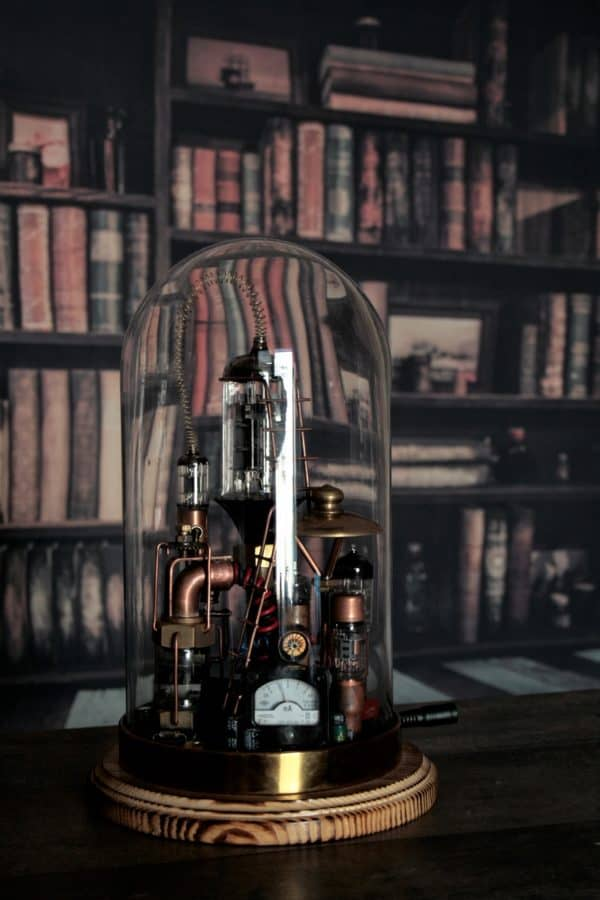 "Steampunk Lamp ""Benjamin"" 3 • Lamps & Lights"