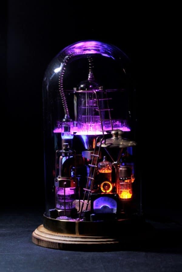 "Steampunk Lamp ""Benjamin"" 11 • Lamps & Lights"