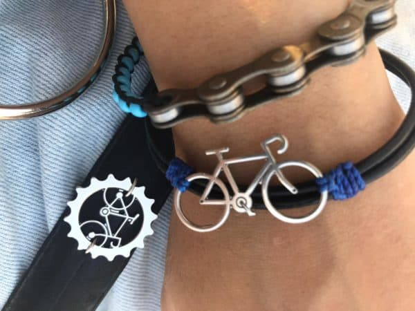 Keepe - Recycled Bicycle Parts into Jewelry 9 • Upcycled Bicycle Parts