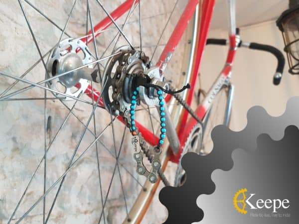 Keepe - Recycled Bicycle Parts into Jewelry 5 • Upcycled Bicycle Parts