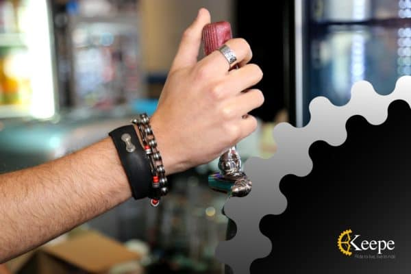 Keepe - Recycled Bicycle Parts into Jewelry 1 • Upcycled Bicycle Parts