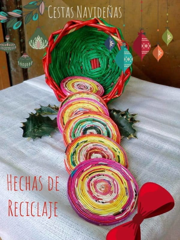 Christmas Decorations From Magazine Paper 1 • Recycling Paper & Books
